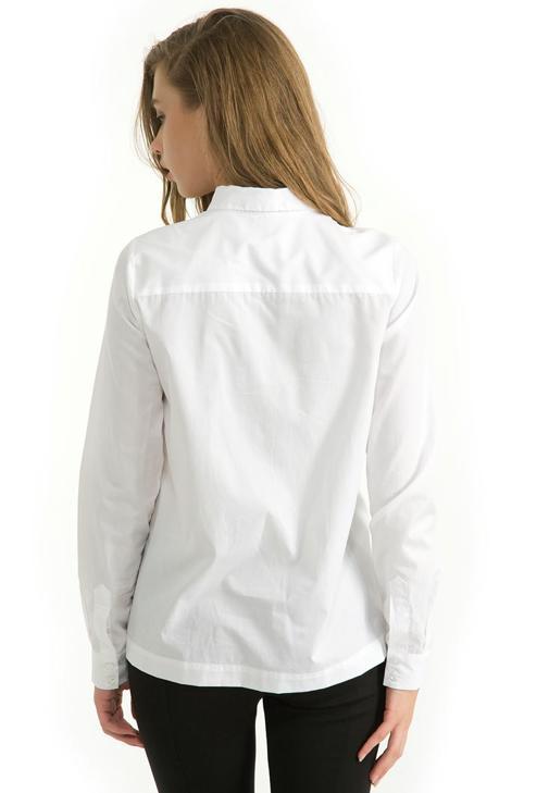 Yırtmaçlı Gömlek 14KHOT-PAMYIRTGOM