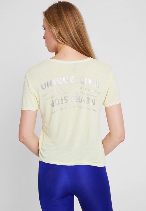 Sırt Baskılı Tişört 14KOX-ASBACKBAS