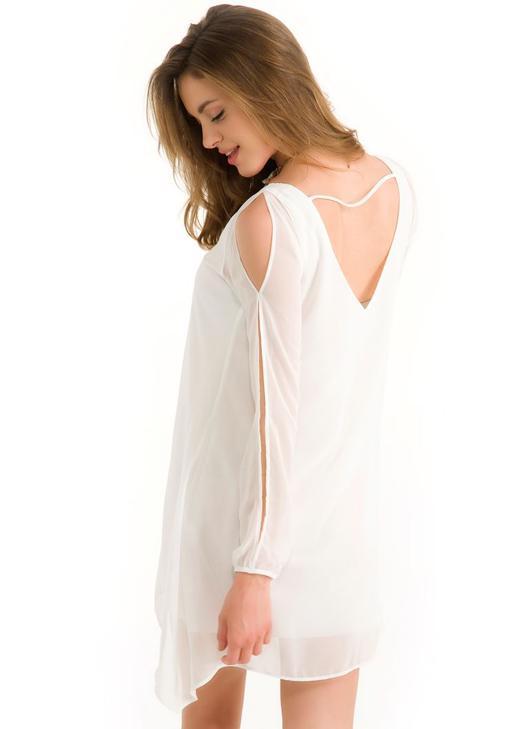 Şifon Elbise 14YOX-SIFTRAPEL