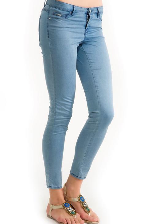 Yazlık İnce Denim Görünümlü Pantolon 14KOX-ALONA