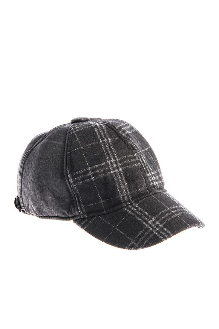 Ekose Desenli Şapka