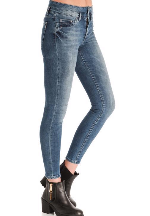 Yüksek Bel Skinny Denim Pantolon 14KOX-DENYBEL