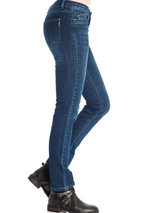 Boru Paça Denim Pantolon 14KOX-DEPSLIM14K