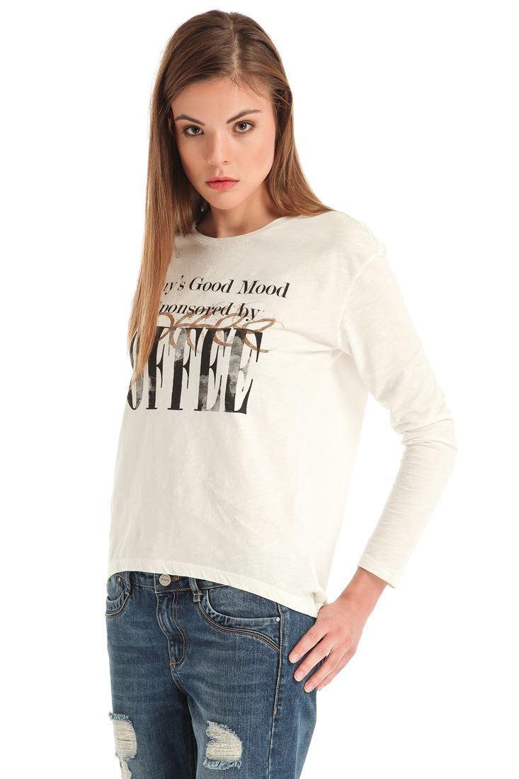 Baskılı Uzun Kollu Tişört