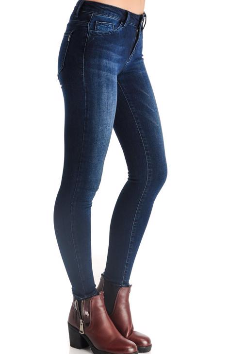 Normal Bel Skinny Denim Pantolon 15YOX-LOLASKINNY