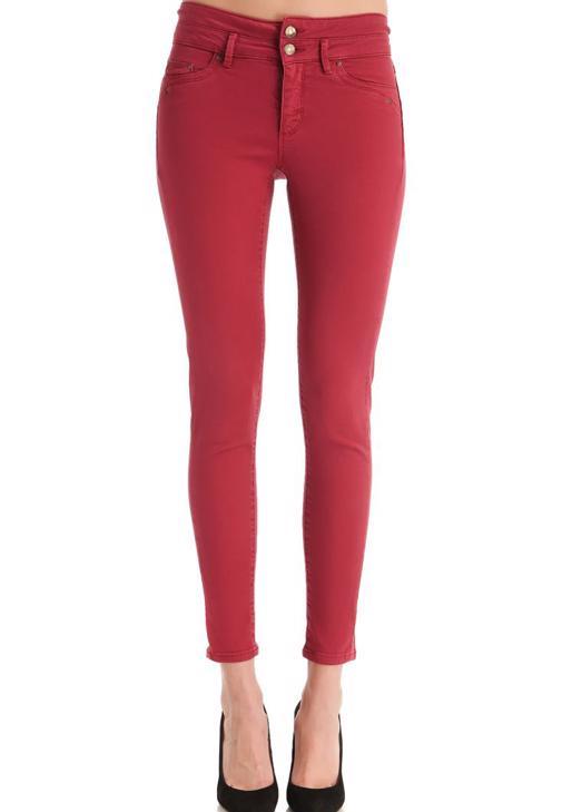 Yüksek Bel Skinny Pantolon 14KOX-NEWHIGH