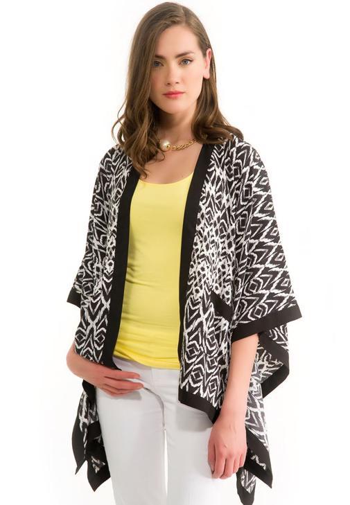 Baskılı Kimono Ceket 14YOX-NOVMONOCAR