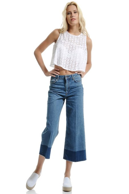 Vintage Bol Paça Pantolon 15KHOT-MONA