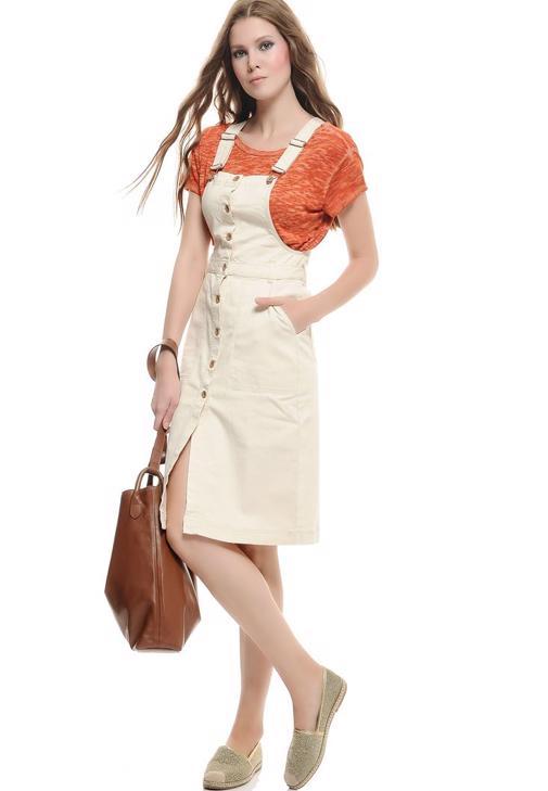Pinafore Elbise 15KOX-ADELE