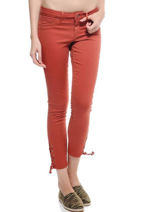 Düşük Bel Skinny Pantolon 15KOX-JEDA