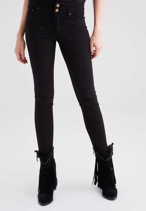 Yüksek Bel Skinny Pantolon 15KOX-JETHIGH15K