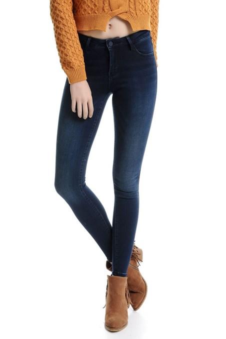 Normal Bel Skinny Denim Pantolon 15KOX-MIDSKINNY15K