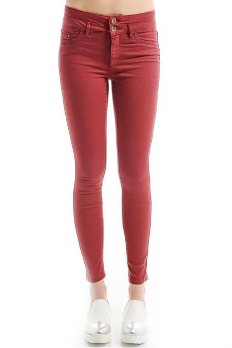 Yüksek Bel Skinny Pantolon 15YOX-NEWHIGH15Y