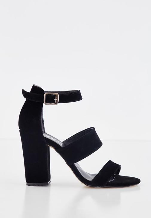 Strappy Detail High Heels