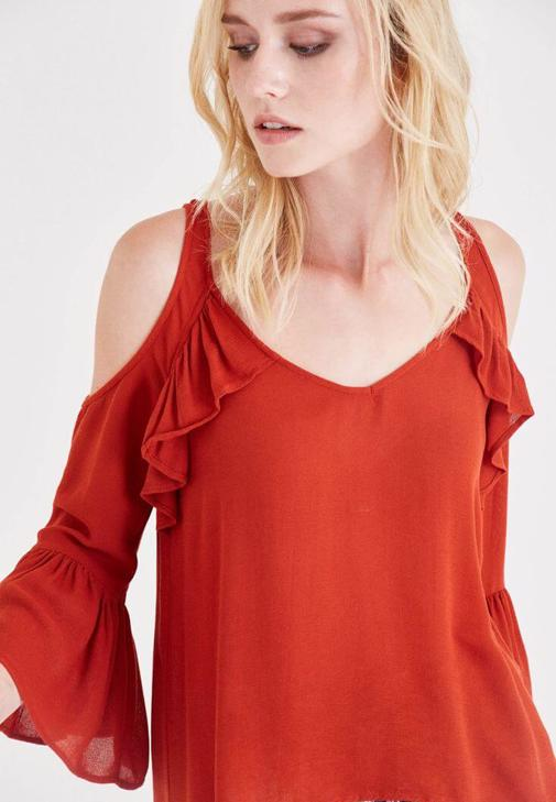 Blouse With Shoulder Detail