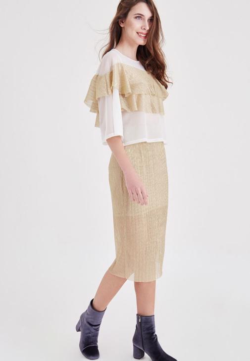 Silvery Skirt