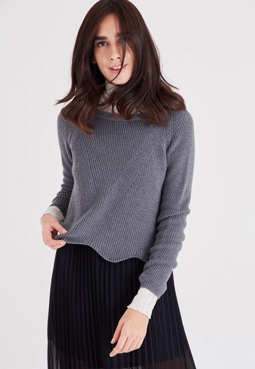 Asimetric Knitwear