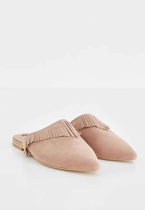 Sandals With Fringe Detail