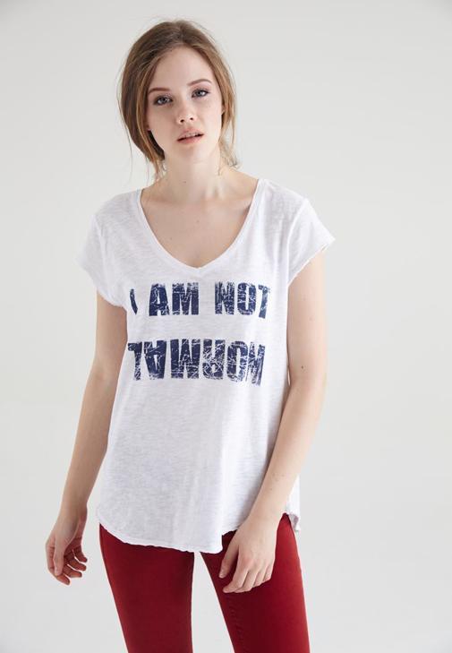 Yazı Baskılı Tişört