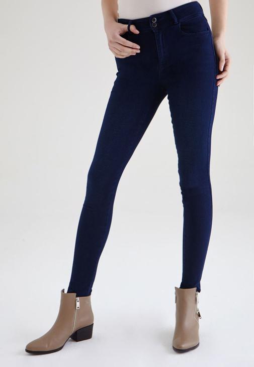 Yüksek Bel Esnek Skinny Jean