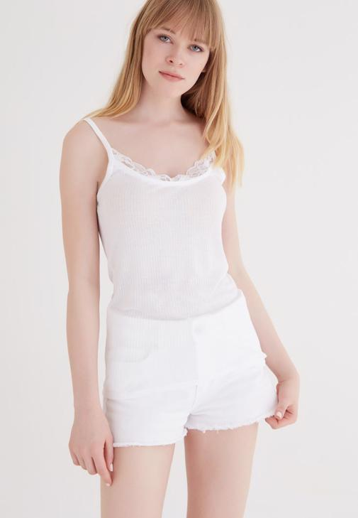 Tank With Lace Deatil