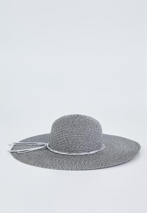 Metallic Detailed Hat