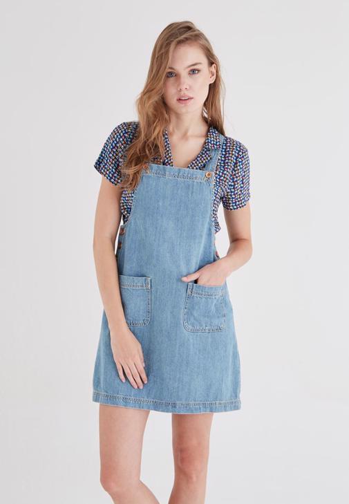 Strappy Detailed Mini Dress