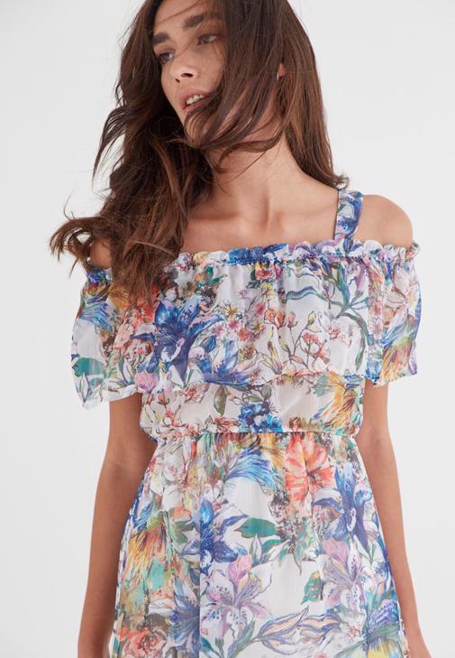 Dress With Shoulder Detail