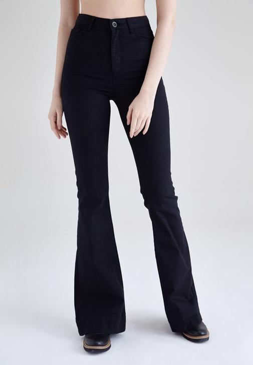 High Rise Flare Jean