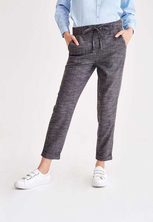 Pants With Lace Detail