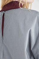 Kürk Yaka Ve Bluz Kombini