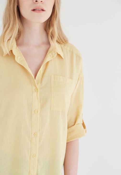 Sarı Gömlek Jean Kombinleri