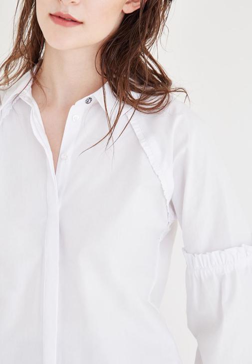 Büstiyer ve Gömlek Kombini