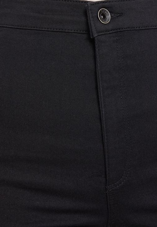 Siyah Dar Paça Pantolon ve Ceket Kombini