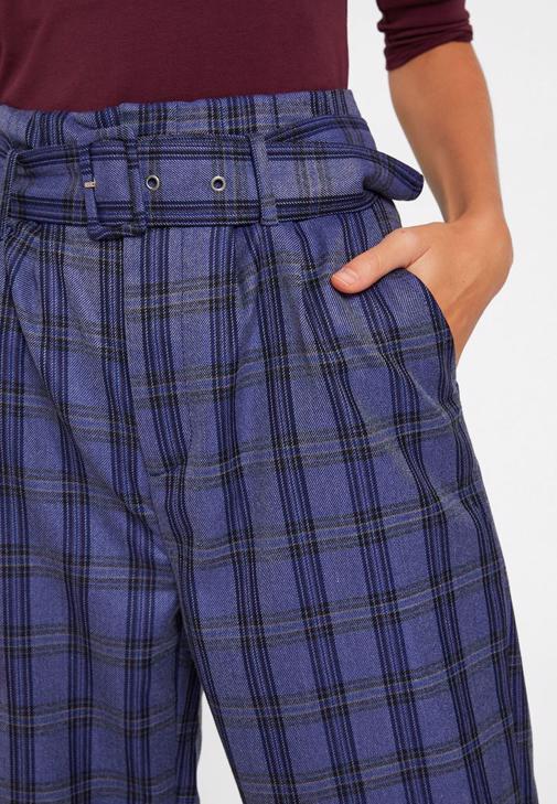 Ekose Pantolon ve Ceket Kombini