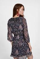 Fırfır Detaylı Elbise Kombini