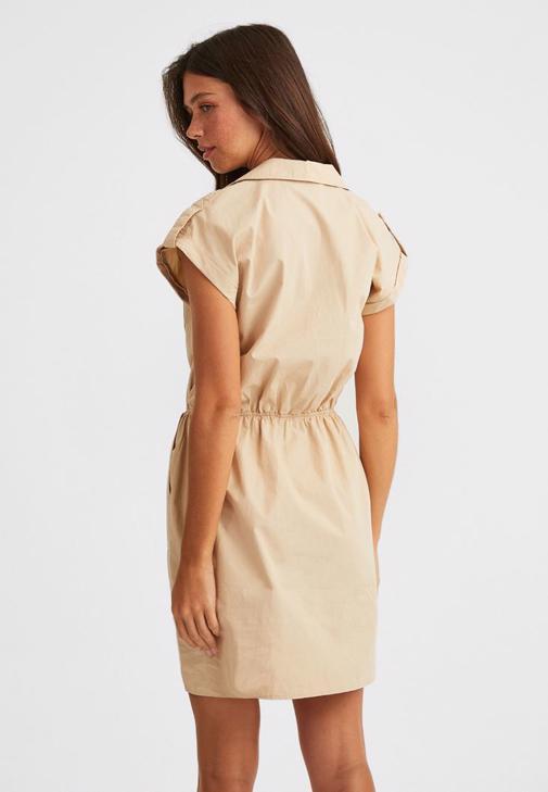 Pamuklu Mini Elbise Kombini