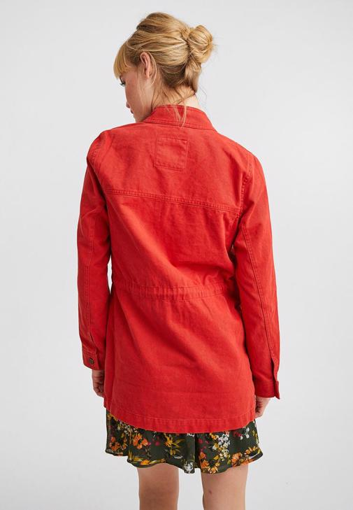 Uzun Ceket Kombini ve Desenli Mini Elbise Kombini