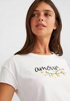 Baskılı Tişört ve Mini Etek Kombini