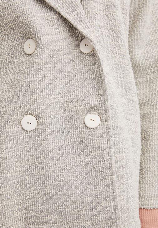 Ceket ve Bol Pantolon Kombini