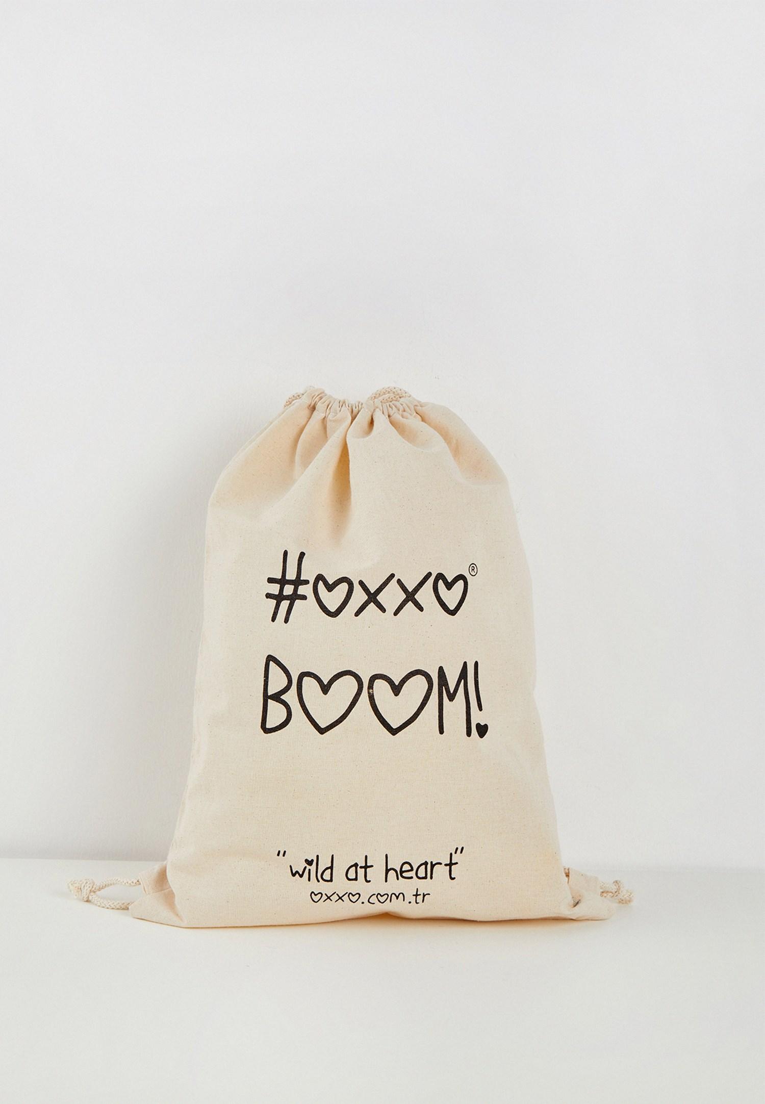 Bayan Krem Boom Çanta