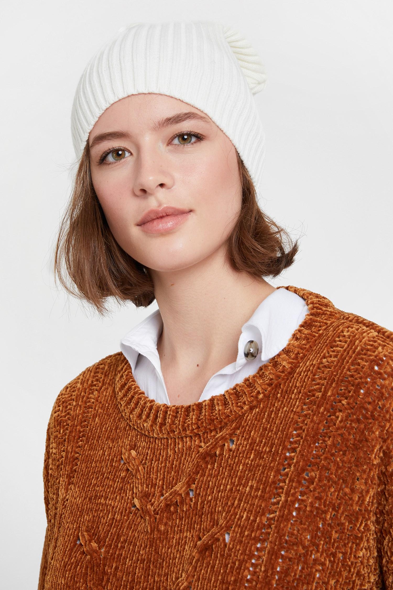 Women Cream Hat