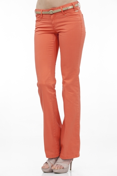 Kırmızı Bol Paça Pantolon