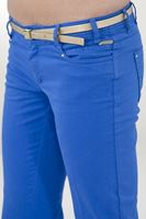 Bayan Mavi Bol Paça Pantolon