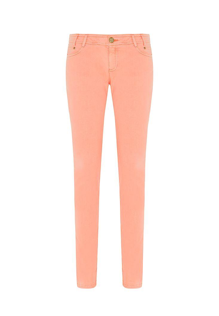 Turuncu Slim Pantolon