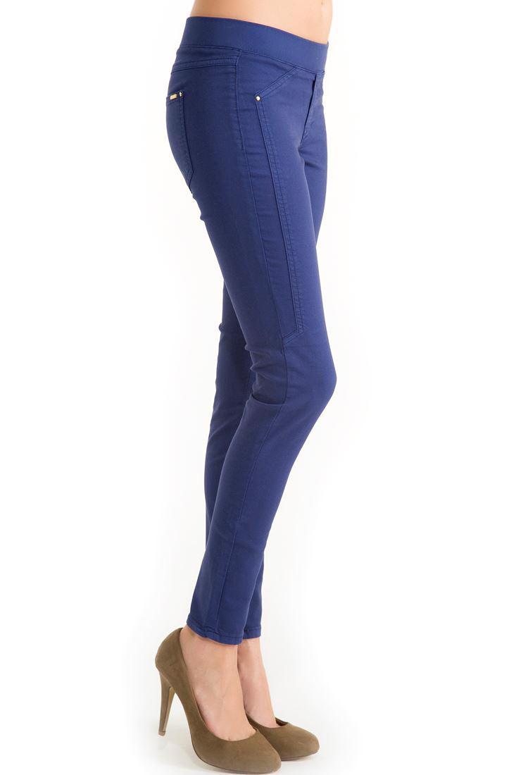 Bayan Mavi Tayt Pantolon