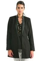 Bayan Siyah Palto