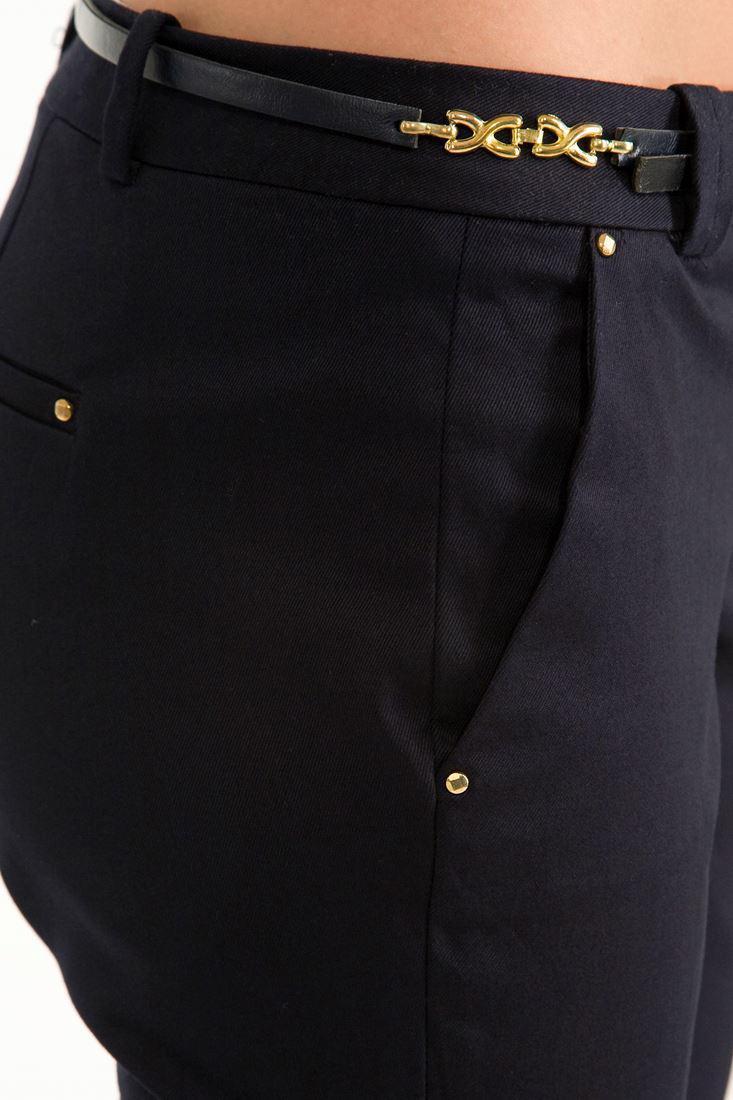 Bayan Lacivert Pantolon