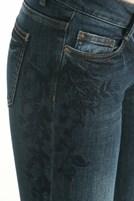 Bayan Mavi Denim Pantolon