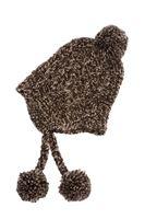 Bayan Kahverengi Örgü Bere